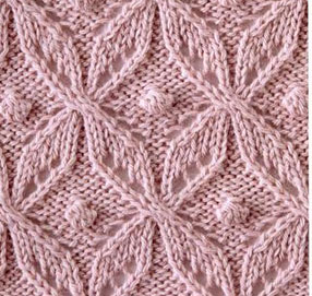 Japanese-Lace-Knitting-Stitch