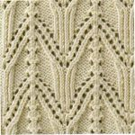 Japanese arch knitting stitch