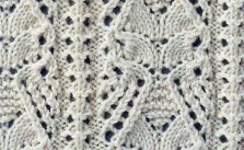 Pretty Japanese Lace Knit Stitch