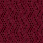 Vertical Zig Zag Lace Knitting Stitch Pattern