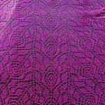Roses lace pattern intricate knitting stitch 2