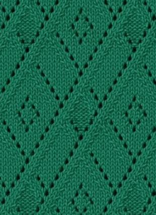 Lace Argyle Free Knitting Stitch Knitting Kingdom