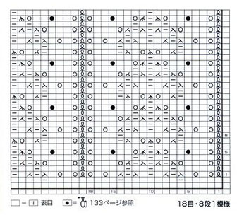 japanese-lace-leaves-knit-stitch-chart