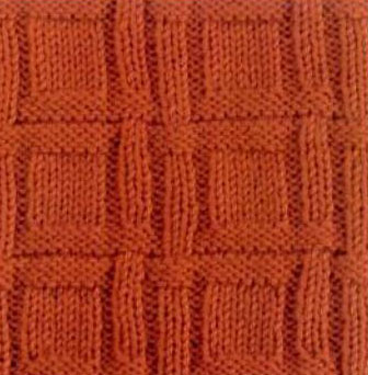 knit-and-purl-textured-square-check-pattern