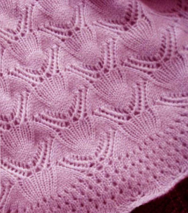 Lace Free Knitting Stitch Clams Knitting Kingdom