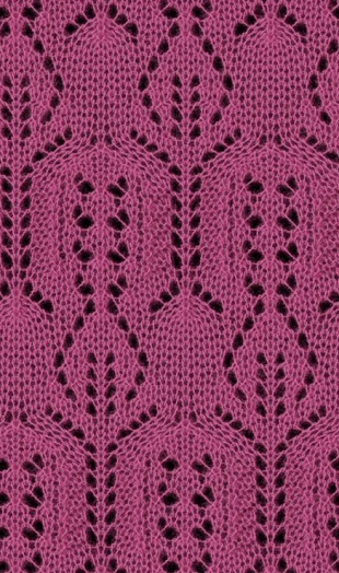 lady lace knitting pattern stitch