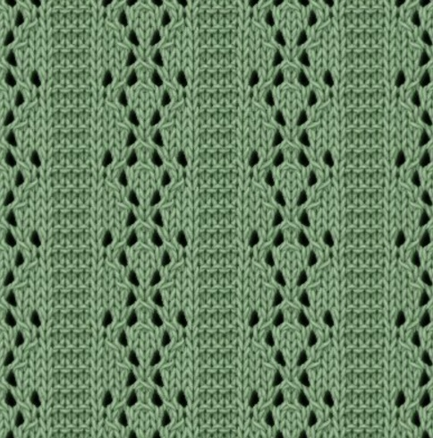 parellel lace stitch