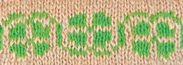 Trebble colorwork knitting