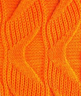 wavy ribbing stitch