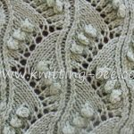Chevron Lace with Bobbles