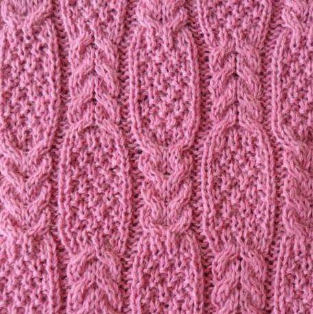 Moss Cable Stitch Free Knitting Pattern - Knitting Kingdom