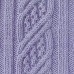 Cable and Lace Panel