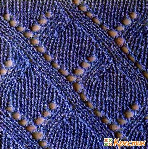 Russian Lace Knit Chart Knitting Kingdom