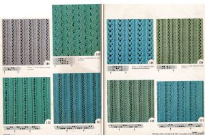 8 Ribbed Lace Knitting Stitches