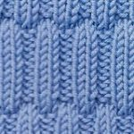 Alternate Ribs Free Knit Stitch