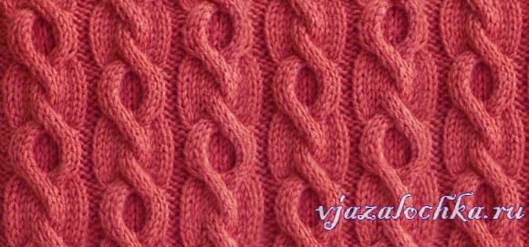 Circle Cable Knitting Stitch Pattern Knitting Kingdom