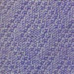 Diamond Knit and Purl motif