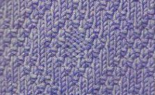 Diamond Knit and Purl motif