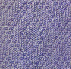 diamond-knit-and-purl-motif