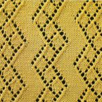 Diamond Zig Zag Lace Pattern