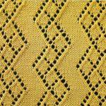 Diamond Zig Zag Lace Pattern