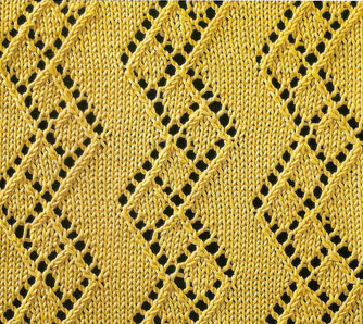 diamond-zig-zag-lace-pattern