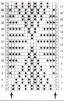 Diamonds-and-textured-Free-Knit-Stitch-chart