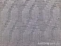 Faux Cable knit pattern