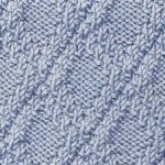 Easy Diamond Pattern Knitting Stitch