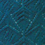 Interesting Triangle Lace Knitting Stitch