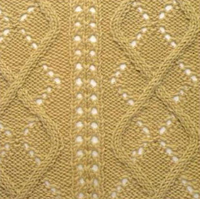 argyle-lace-and-cable-stitch