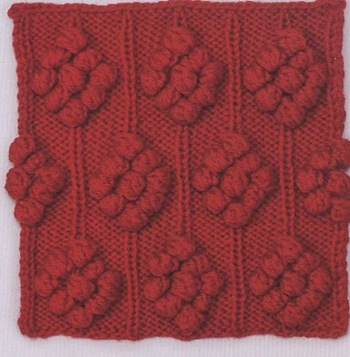 bobble-clusters-knitting-stitch