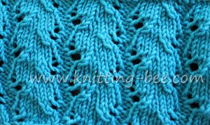 free knitting stitch