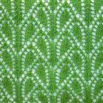 Broken Leaves Knitting Stitch