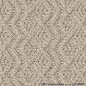 Tag: lace and cable knitting stitch - Knitting Kingdom (26 free knitting patt...