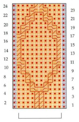twisted-diamonds-knit-stitch-chart