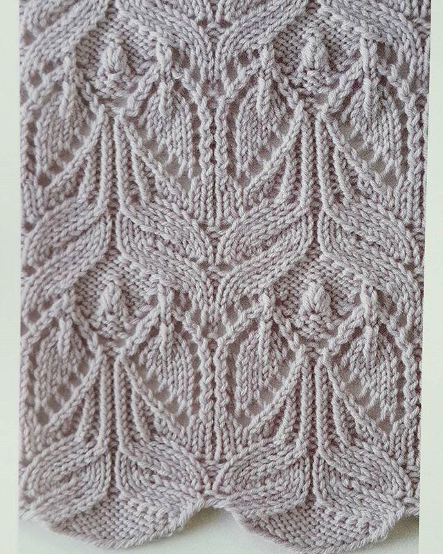 Japanese Lace Knitting Stitch Knitting Kingdom