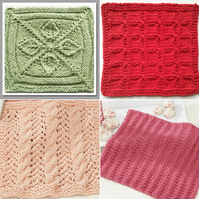 Dishcloth Knitting Stitches Knitting Kingdom