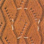 New Zig Zag Knitting Stitch