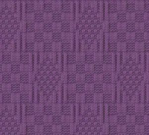 Knit and purl diamond knitting stitch
