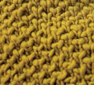 Bee Stitch Free Knitting Stitch Pattern