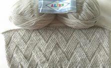 Chevron Weave Knitting Stitches