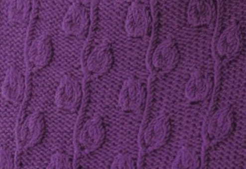 Embossed Stitches Knitting Kingdom