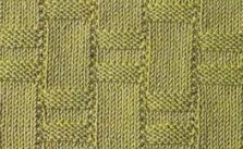 Basket Weave Variety Knit Stitch