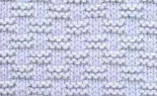 Basket weave Knit Stitch Variety