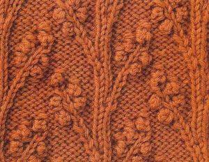 Blossoms Knitting Stitch