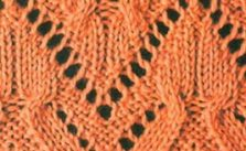 Cable and Lace Knitting Stitch