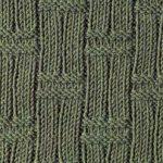 Double Basket Knitting Stitch