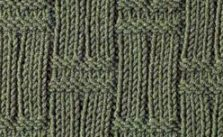 Double Basket Knitting Stitch