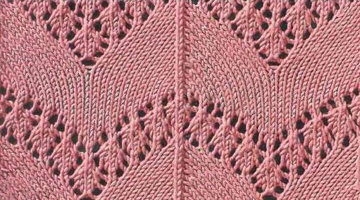 Dove Knitting Pattern : Dove Wings Lace Knitting Stitch - Knitting Kingdom